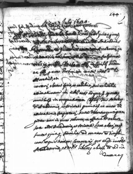 ASR, TNC, uff. 15, 1620, pt. 3, vol. 85, fol. 144r
