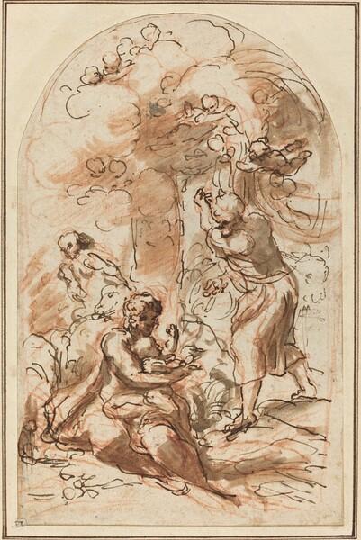 Study for the Madonna della Scodella [recto]