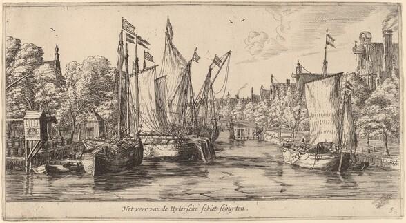 The Ferry to Utrecht (Het veer van der Uytersche schiet-schuyten)