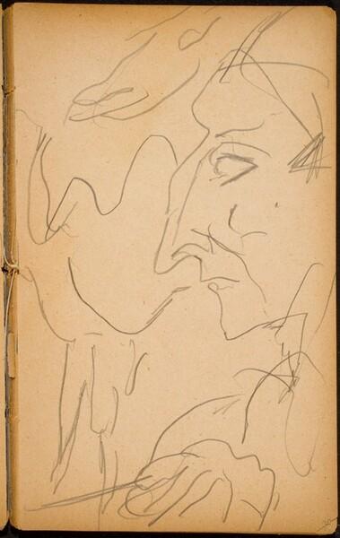 Artist oder Clown mit Tier (Performer with Animal) [p. 39]