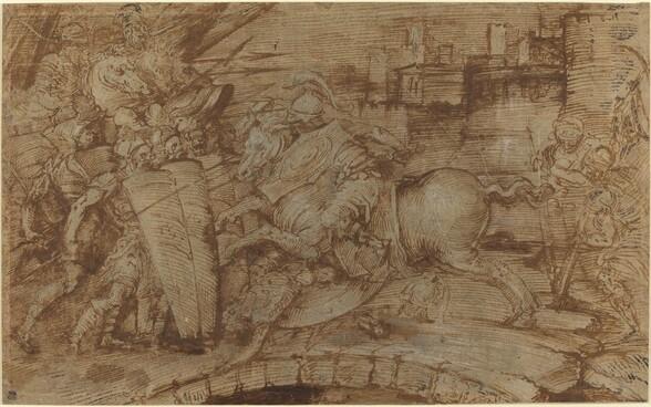 Horatius Cocles Defending Rome
