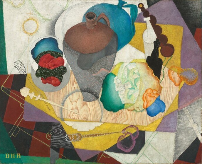 Diego Rivera, No. 9, Nature Morte Espagnole, 19151915
