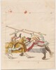 Freydal, The Book of Jousts and Tournaments of Emperor Maximilian I: Combats on Horseback (Jousts)(Volume I): Plate 37