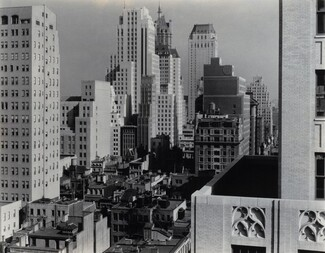 image: New York from An American Place