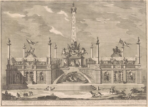 The Prima Macchina for the Chinea of 1758: A Deliziosa with Hanging Gardens