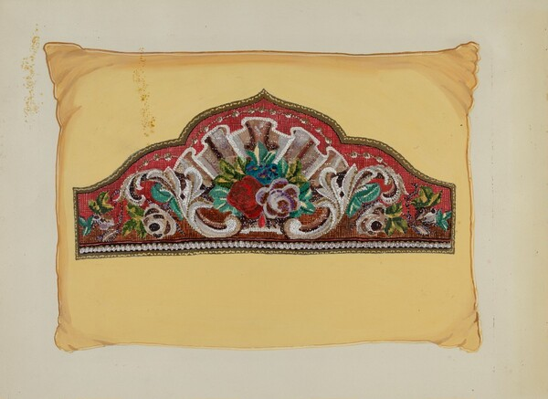 Embroidery on Pillow