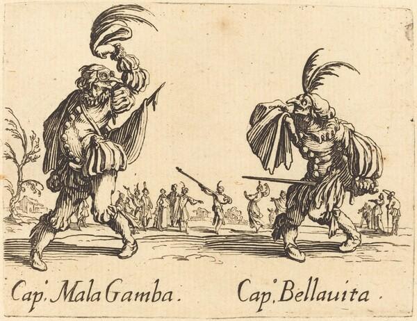 Cap. Mala Gamba amd Cap. Bellavita