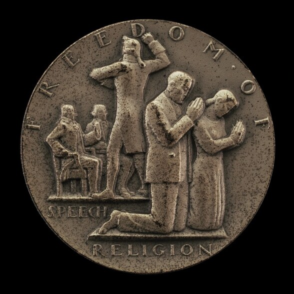 Freedom of Speech and Religion [obverse]