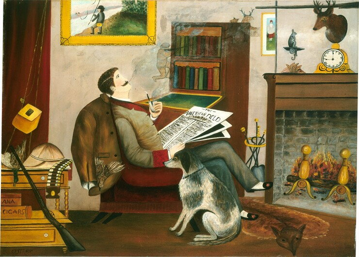 <p>C.F. Senior, The Sportsman's Dream, 1881 or after