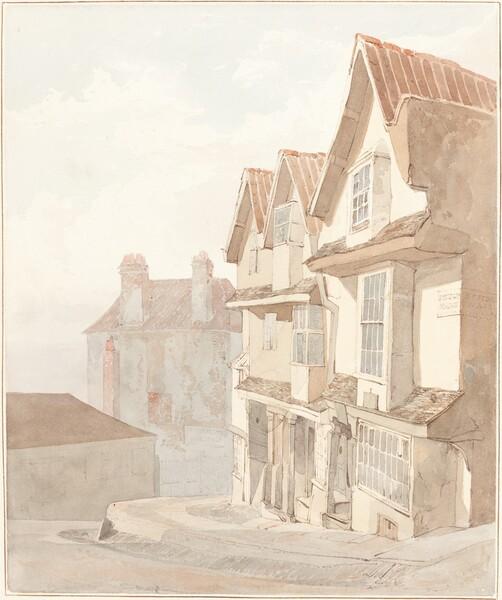View of Church Lane, Bristol