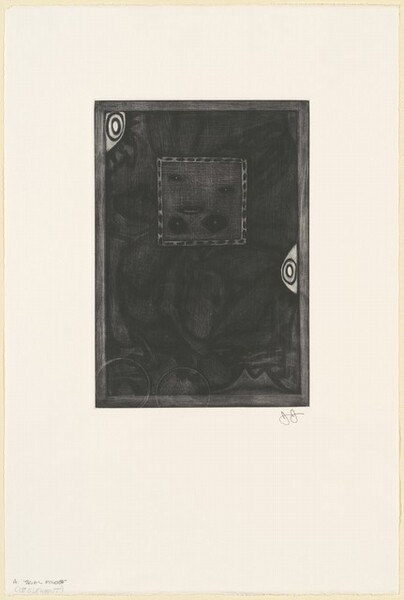 Untitled (Purple Mezzotint) [trial proof A]