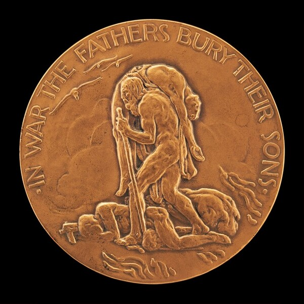 In War the Fathers Bury their Sons [reverse]