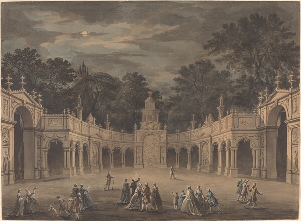 A Design for Illuminations to Celebrate the Birthday of King George III