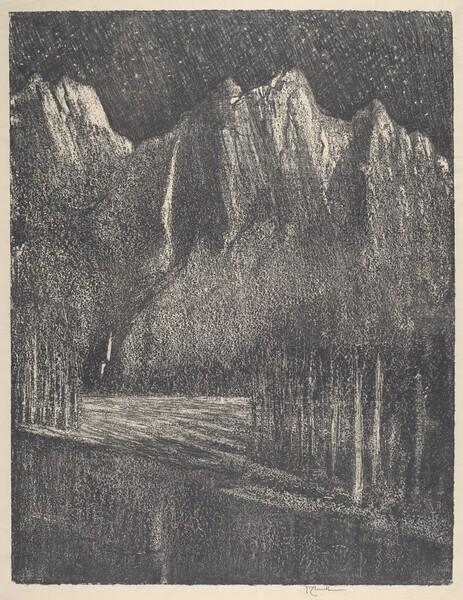Night in the Yosemite