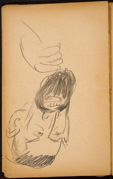 Männliche Bildnisstudie (Male Portrait with Beard) [p. 54]