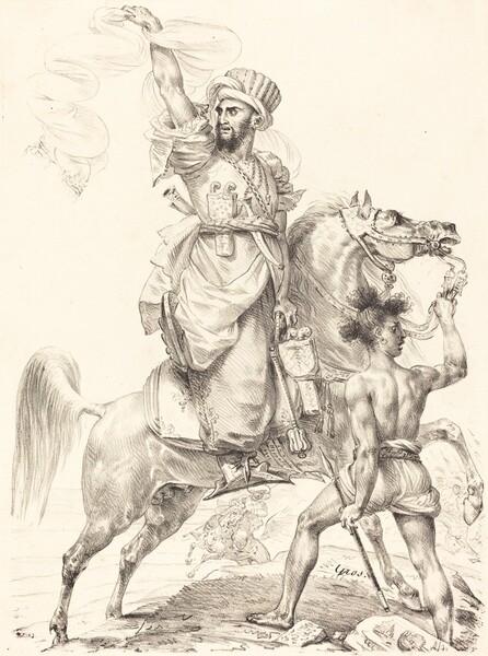 The Chief of the Mamelukes on Horseback