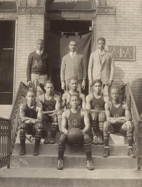 Alpha Phi Alpha Basketball Team