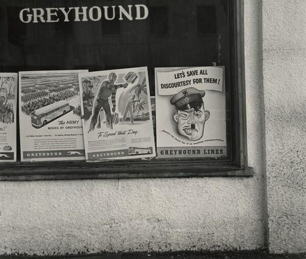 Greyhound Signage, Oakland, California