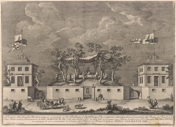 The Seconda Macchina for the Chinea of 1759: A Deliziosa with a Bacchanal