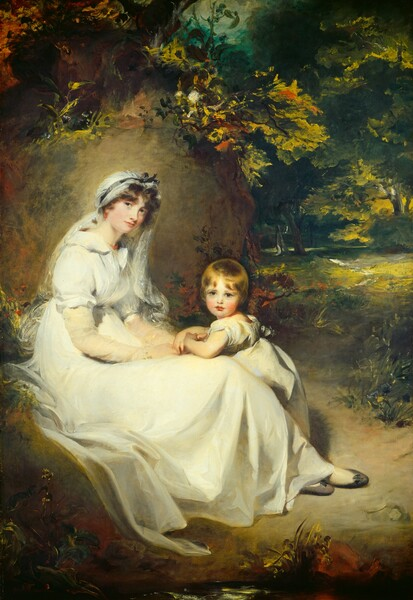 Lady Mary Templetown and Her Eldest Son