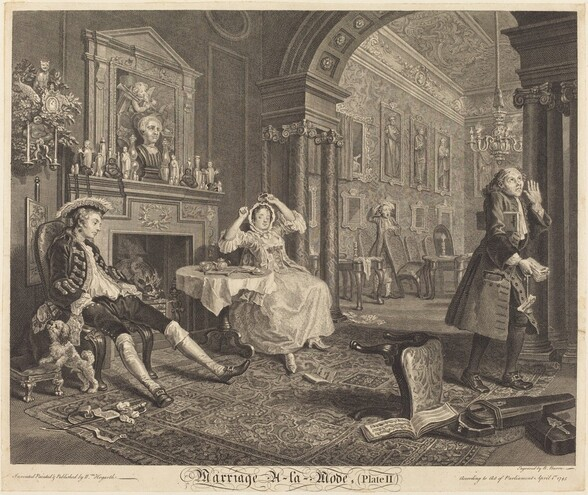 Marriage a la Mode: pl. 2