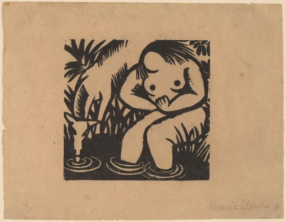 Woman at the Water