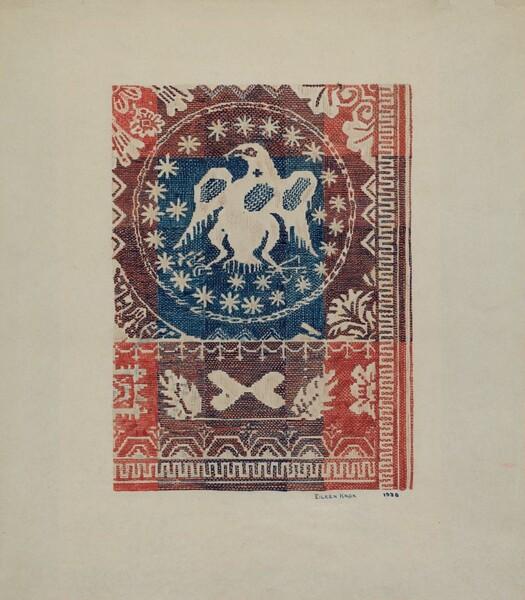 Coverlet: Eagle Coin