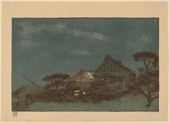 Evening in Fukagawa