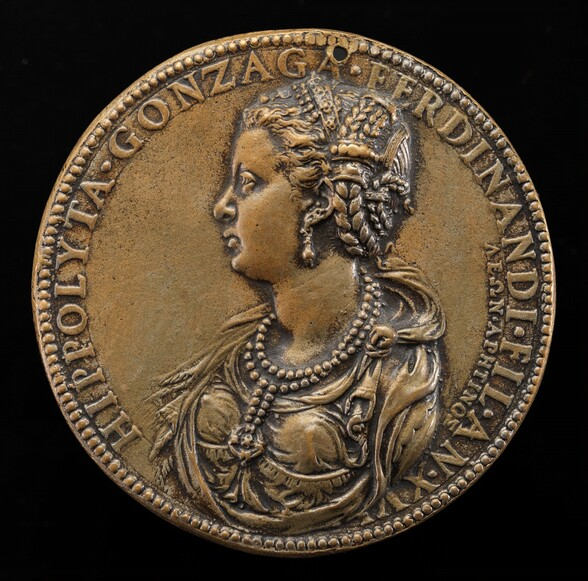Ippolita Gonzaga, 1535-1563, daughter of Ferrante Gonzaga [obverse]