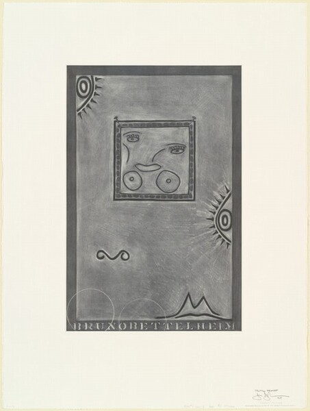 Untitled (White Mezzotint) [trial proof]