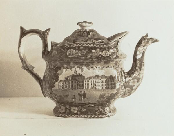 Teapot - Baltimore Almshouse