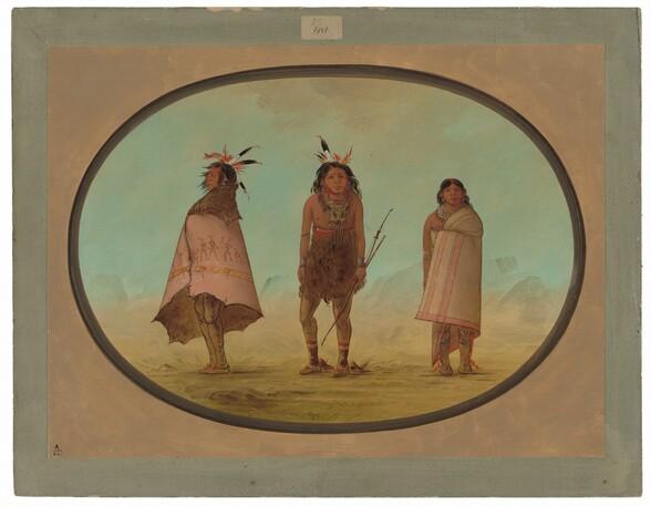 Yntah Medicine Man, a Warrior, and a Woman