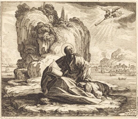 Saint John on the Isle of Patmos