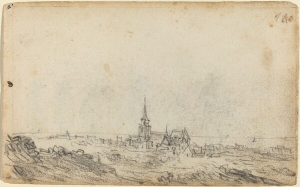 View of Scheveningen [recto]