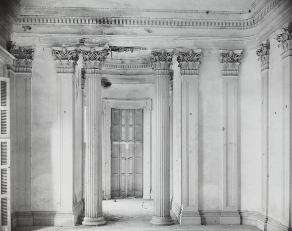 Breakfast Room at Belle Grove Plantation, White Chapel, Louisiana, 1935