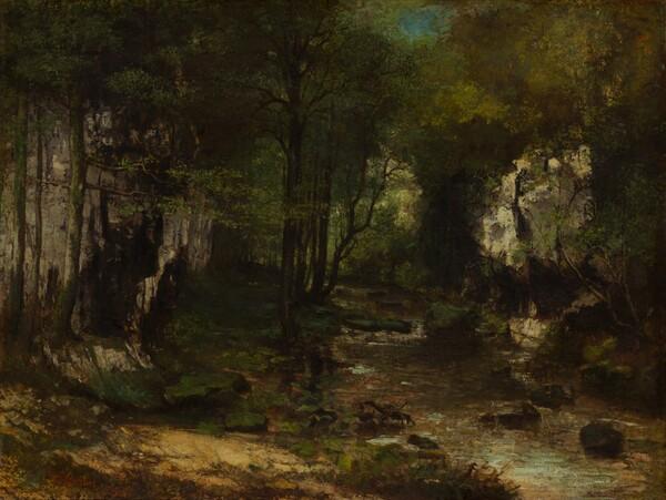 The Stream (Le Ruisseau du Puits-Noir; vallée de la Loue)