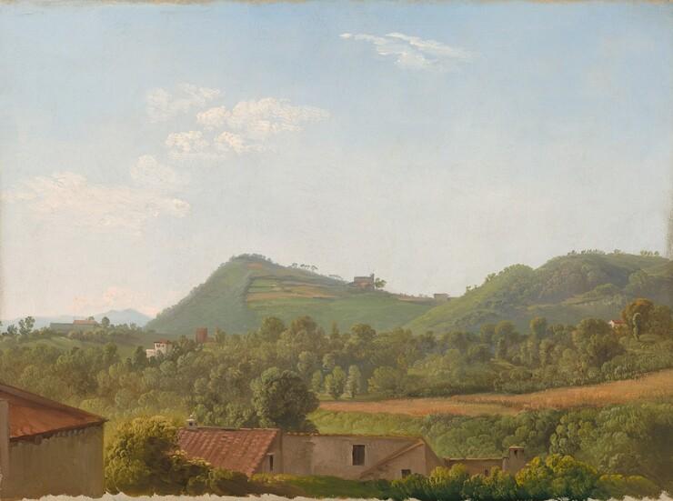 Simon Denis, View near Naples, c. 1806