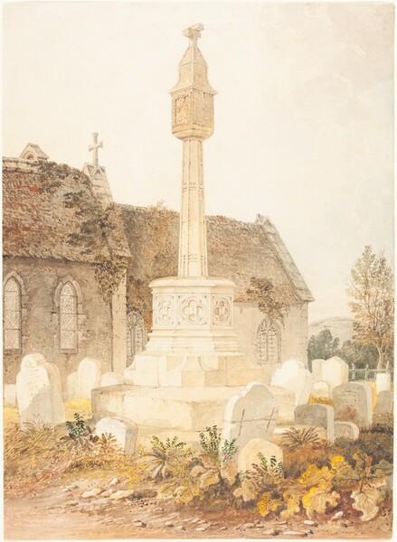 Monument in a Church Cemetery