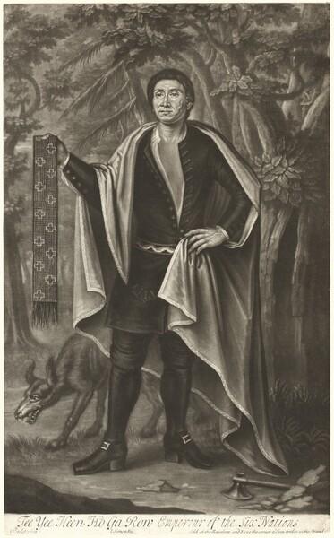 Tee Yee Neen Ho Ga Row, Emperor of the Six Nations