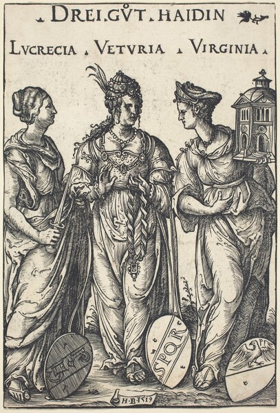 Lucretia, Veturia and Virginia