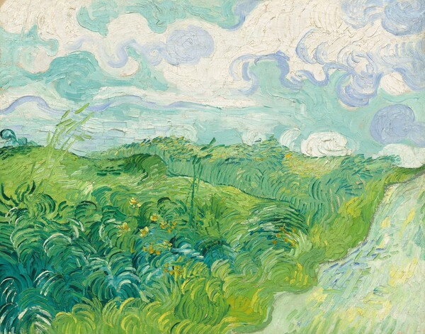 Green Wheat Fields, Auvers
