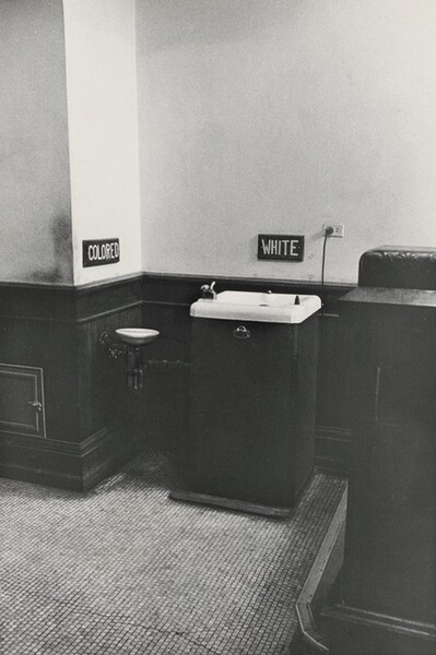 Segregated Drinking Fountains, County Courthouse, Albany, Georgia