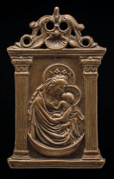The Virgin and Child on a Crescent Moon