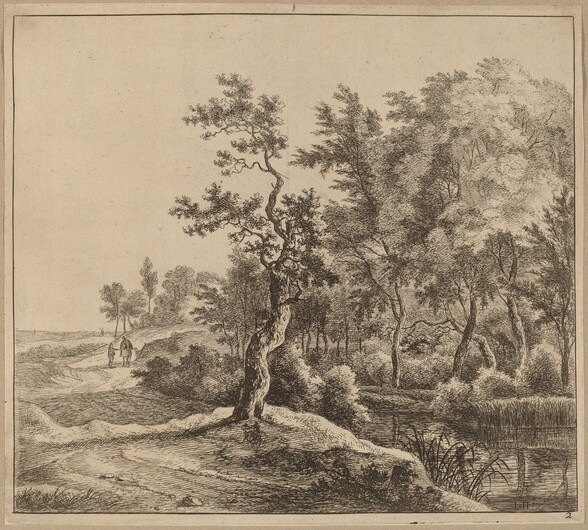 Landscape with a Winding Road