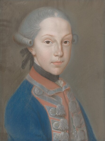 Portrait of a Young Man in Uniform