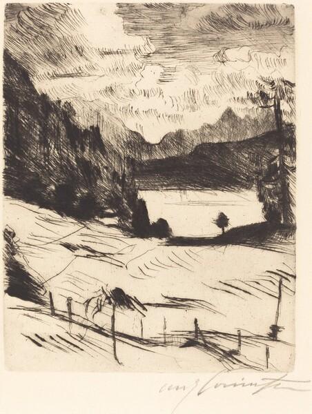 Der Walchensee (The Walchensee)