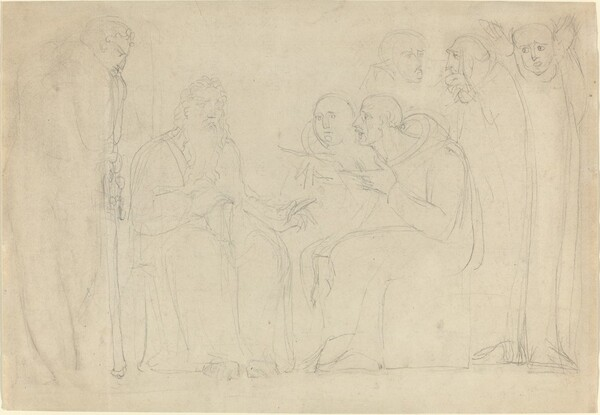 Saint Augustine Converting King Ethelbert of Kent