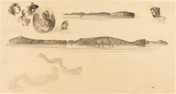 Sketches on the Coast Survey Plate