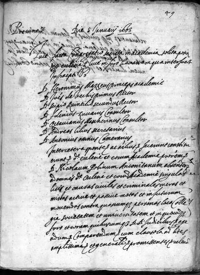 ASR, TNC, uff. 11, 1603, pt. 1, vol. 57, fol. 49r