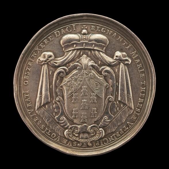 Arms of Transylvania [reverse]